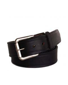 R.G. BULLCO USA Made RGB-111 1-1/2-In Full Grain Black Leather Belt - Size 30