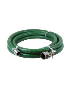 Honda 1240-1500-20CNH Green PVC 1.5-inch x 20-ft Water Suction Hose with Camlock
