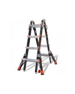 Little Giant 15145-259 Dark Horse M22 Fiberglass Ladder with Walkthrough Docks