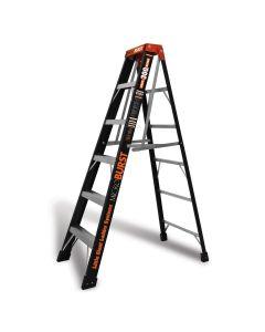 Little Giant 15705 MicroBurst Step Ladder w/ StableLock Type 1A Model 6