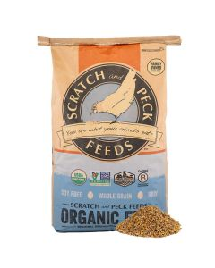 Scratch and Peck Feeds 2002-40 Naturally Free Organic Starter Chick Feed, 40-lbs