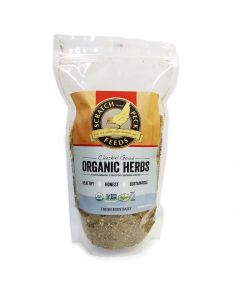 Scratch and Peck Feeds 9800-01 Cluckin' Good Organic Herbs - 10-Ounce