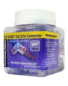 The Platinum Tools 202003J EZ-RJ CAT 5/5e Connectors
