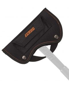 Estwing #26 Hunter's Axe Sheath - Black with orange stitching - Fits EOHA & EBHA