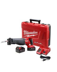 Milwaukee 2720-22 M18 FUEL Brushless Cordless SAWZALL Reciprocating Saw Kit