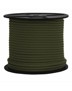 PNW Select 312406300 Olive Green Polyester Rope 3/8-inch by 300-foot