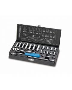 Channellock 34211 Driver Mechanics SAE Socket Set, 21-Pieces