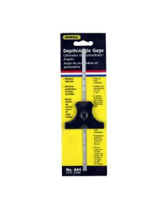 General Tools 444 Steel Depth and Angle Gauge