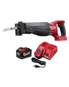 Milwaukee 48-59-1890PS M18 9.0 System Starter Kit w. SAWZALL Reciprocating Saw