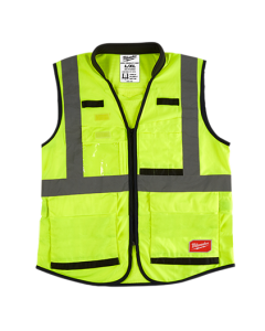 Milwaukee 48-73-5081 ANSI/CSA High Visibility Yellow Safety Vests - S/M