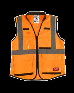 Milwaukee 48-73-5093 ANSI High Visibility Orange Safety Vests - XL/XXXL