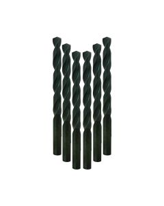 Milwaukee 48-89-2840 3/8-Inch Thunderbolt Black Oxide Drill Bit, 6-Pack