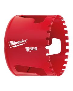 "Milwaukee 49-56-5660 2-1/2"" Diamond Plus Threaded Hole Saw"
