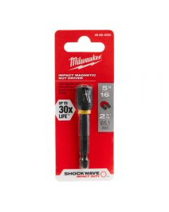 Milwaukee 49-66-4533 Shockwave 5/16-inch x 2-9/16-inch Magnetic Nut Driver