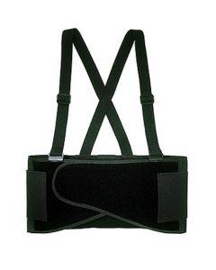 CLC Custom Leathercraft 5000L Economy Back Support w/ Suspenders - Large