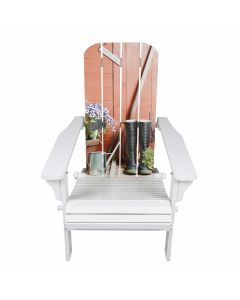 The Generic 542092 White Adirondack Chair
