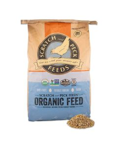 Scratch and Peck Feeds 6001-40 Organic Sheep Feed - 40-lbs