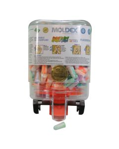 Moldex 6644 Sparkplugs Uncorded Foam Ear Plugs 250 Pairs in Dispenser