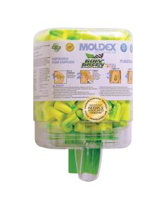 Moldex 6646 Goin Green 33dB 250 Pair Disposable Foam Earplugs Plugstation