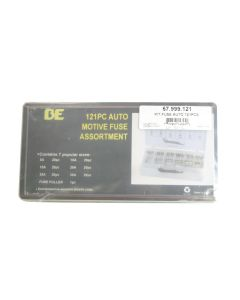 BE Pressure 67.999.121 121 Piece Automotive Fuse Kit