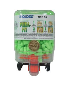 Moldex 6844 Pura-Fit Uncorded Foam Ear Plugs 250 Pairs in a Dispenser