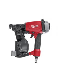 "Milwaukee 7220-20 Pneumatic 1-3/4"" 15 Degree Coil Roofing Nailer"