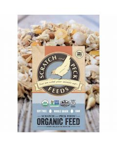 Scratch and Peck Feeds 2002-25 Naturally Free Organic Starter Chick Feed, 25-lbs