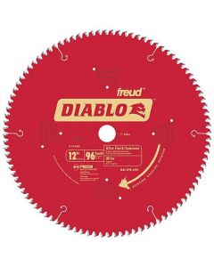 Freud D1296N Diablo 12-inch 96T TCG Non-Ferrous Metal Miter Saw Blade