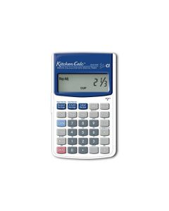 Calculated Industries 8300-BXB Kitchen Calc with Hinged Hard Case