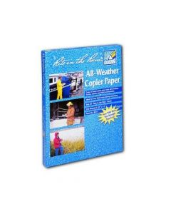 "Rite in the Rain 8511 All-Weather White Copier Paper - 200 Sheets (8 1/2"" x 11"")"