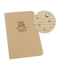 """Rite In The Rain 980T Tan All Weather Field-Flex Tactical Bound Book 4 5/8"""" x 7 1/4"""""""