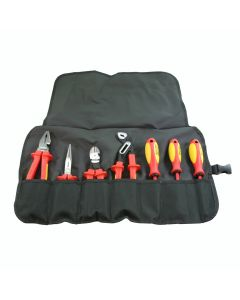 Knipex 989825US Insulated High Leverage Tool Set - 7 Piece