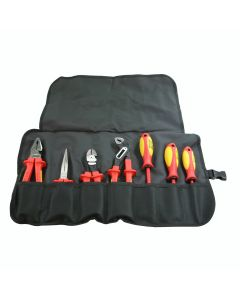 Knipex 989827US Insulated High Leverage Tool Set - 7 Piece
