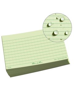 Rite in the Rain 991 All-Weather Green Index Cards 3-Inch x 5-Inch 100-Pack