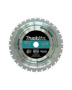 Makita A-96095 5-7/8-inch 32 Carbide-Tipped General Purpose Cutting Saw Blade