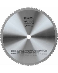 "Makita A-97592 14"" (70T) Carbide_Tipped Metal Cutting Blade, Ferrous Metal"