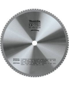 "Makita A-97601 14"" (90T) Carbide-Tipped Ferrous Metal Blade - Thin Gauge"