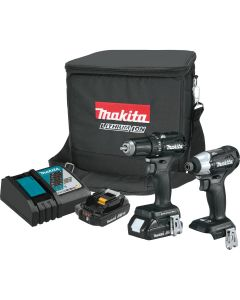 Makita CX200RB 18V Lithium_Ion Sub_Compact Brushless Cordless 2_Pc. Combo Kit