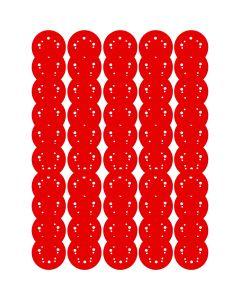 Diablo DCD050220H50G 5-Inch Hole Pattern 220-Grit Sanding Discs, 50-Pack