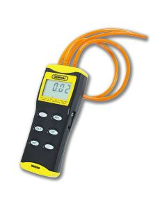 General Tools DM8200 36 in. 0 to 100 PSI Precision Digital Manometer with Tubing