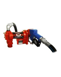 The Fill-Rite FR4210DARC Fuel Pump with Hose and Nozzle