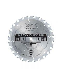 The Freud LM72M010 10-inch 24T ATB Heavy Duty Rip Saw Blade