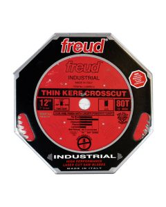 The Freud LU88R012 12-inch 80T ATB Thin Kerf Fine Crosscut Saw Blade