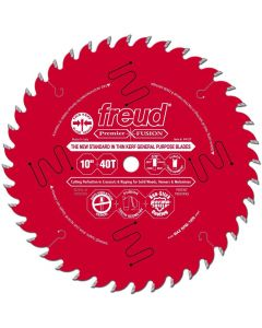 The Freud P410T 10-inch Kerf Saw Blade