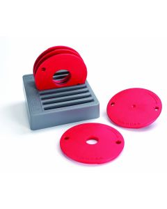 Precision Router Table Insert Plates by Kreg