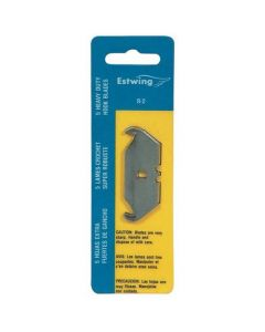 Estwing R-2 Replacement Notched Hook Knife 2.5-In Blade - 5-Pack