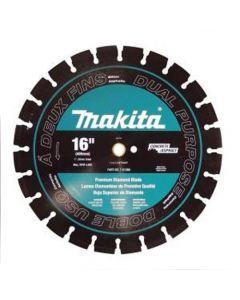 The Makita T-01286 16 Inch Diamond Blade