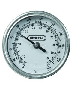 General Tools T300-36 Long-Stem Analog Agricultural Thermometer