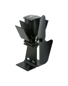 Caframo T805B Ecofan Alcona Black Blade Heat Powered Stove Fan