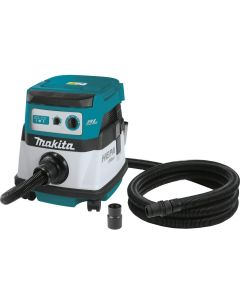 Makita XCV07ZX 18V X2 Brushless 2.1 gallon HEPA Filter Dry Dust Extractor/Vacuum
